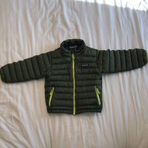 Patagonia down sweater toddler jacket size 3T